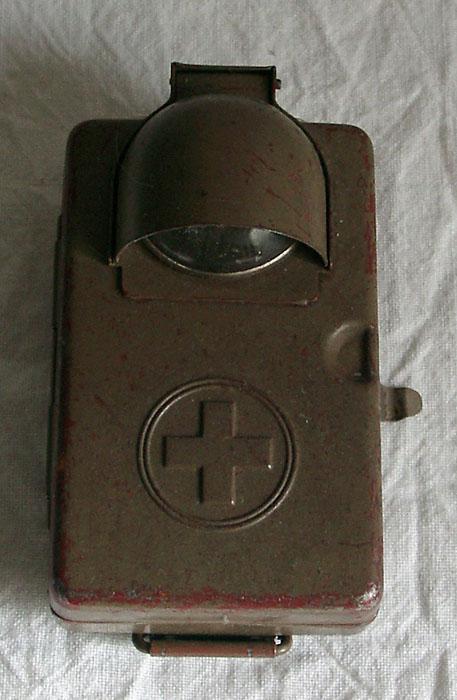 elves ancienne lampe de poche suisse arm e pour 1945 militaire swiss ebay. Black Bedroom Furniture Sets. Home Design Ideas
